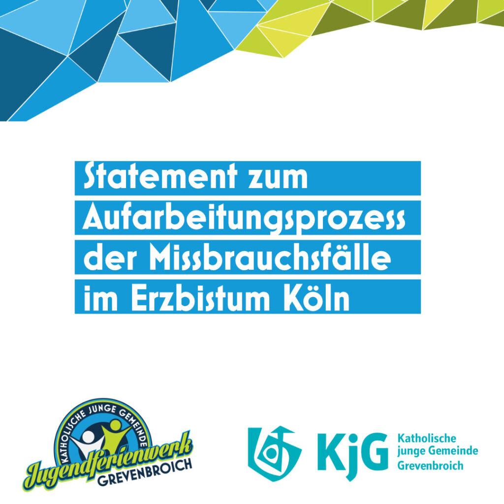 Statement des Jugendferienwerk Grevenbroich